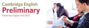 jazykové zkoušky Cambridge English: Preliminary (PET)