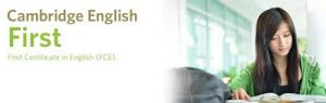 mezinárodní jazykové zkoušky Cambridge English: First (FCE)