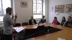 Výuka angličtiny v jazykové škole Amigas