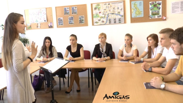Výuka jazyků v jazykové škole Amigas