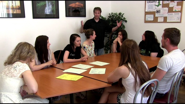 Teachers at language school Amigas