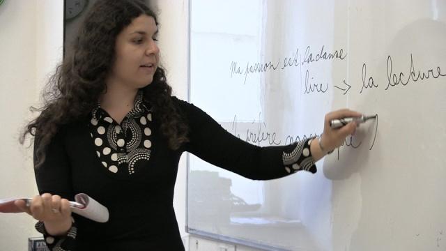 kariéra lektorky v jazykové škole Amigas