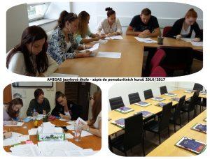další ročník pomaturitního studia angličtiny v Amigas