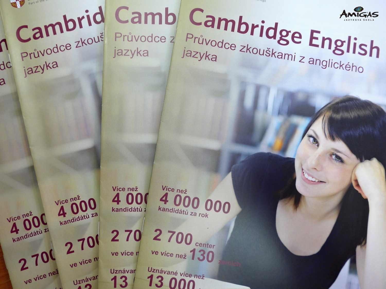 Učebnice k mezinárodním zkouškám Cambridge English.