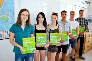 Studenti angličtiny v Amigas.