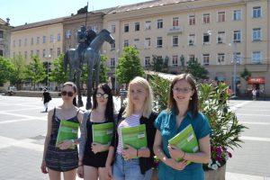 Pomaturitní studenti jazykové školy Amigas.