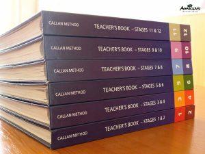 Učebnice Callanovy metody.