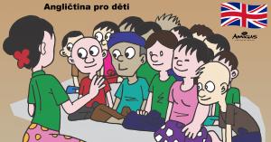 Jazykové kurzy angličtiny pro děti